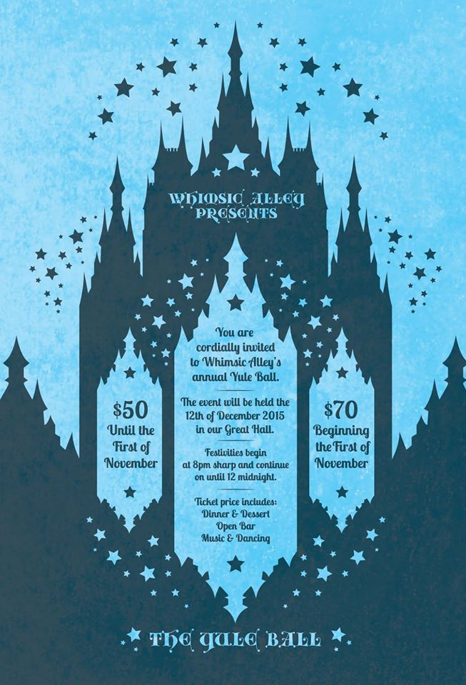 Win tickets to the Yule Ball Heather Lyons